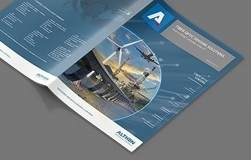 Althen Fiber Optic brochure