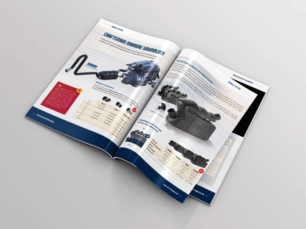 Craftsman Marine catalogus topview open 05