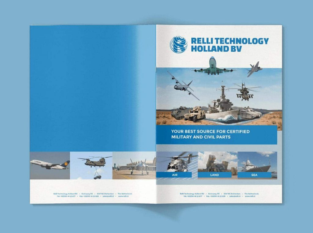Relli Technology brochure topview front