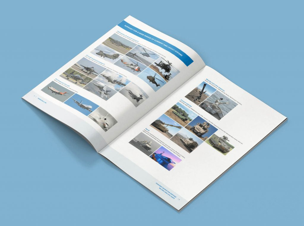 Relli Technology brochure zijkant open