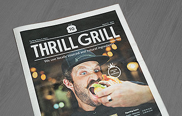 Thrill Grill For the love of Burgers