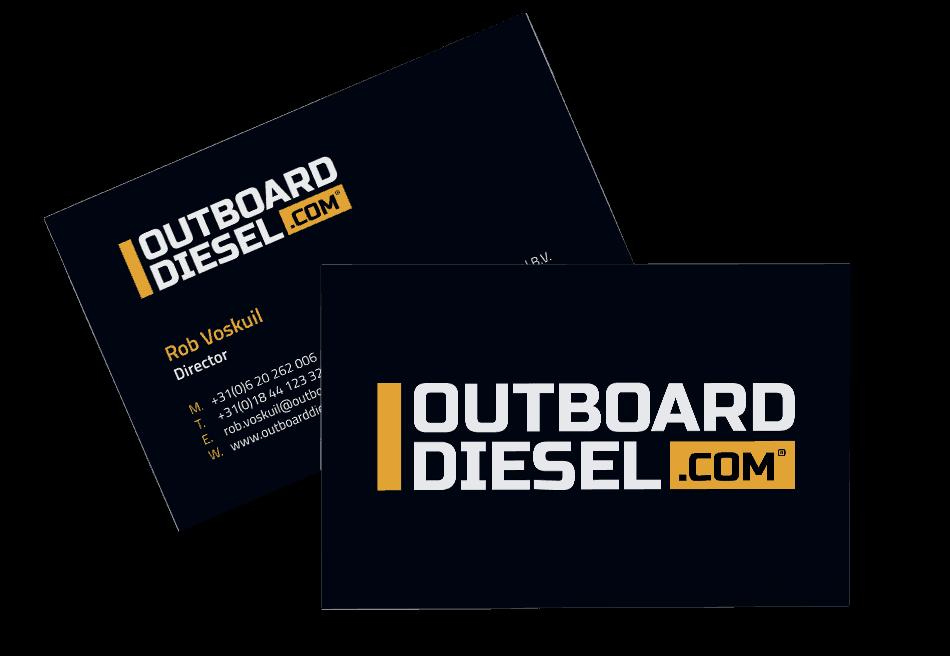 Visitekaartjes Outboard Diesel